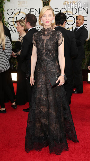 Кейт Бланшетт (Cate Blanchett) на церемонии «Золотой глобус-2014»