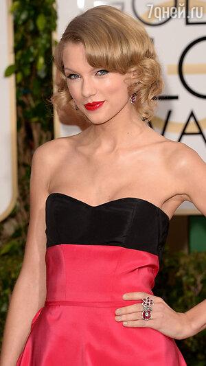 Тейлор Свифт (Taylor Swift )  на церемонии «Золотой глобус-2014»