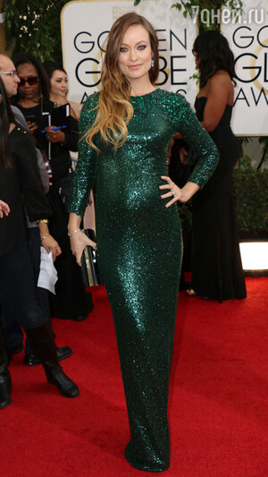 Оливия Уайлд (Olivia Wilde) на церемонии «Золотой глобус-2014»