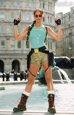 Британская модель Люси Кларксон, одна из прототипов легендарной компьютерной Лары Крофт, едва не свела Вина с ума рассказами о своих прошлых романах