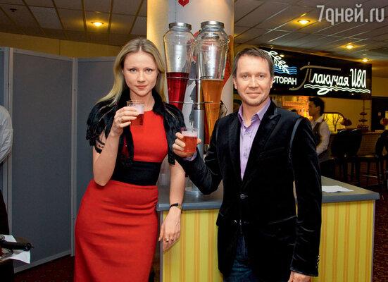 Евгений Миронов и Мария Миронова