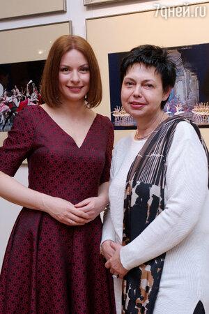 Ирина Лачина и Ирина Черномурова