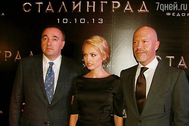 Александр Роднянский, Яна Студилина и Федор Бондарчук