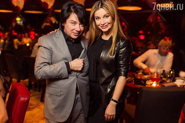 Валентин Юдашкин и Ольга Орлова