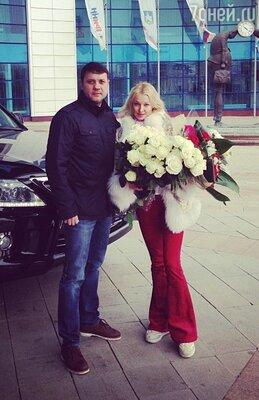 Анастасия Волочкова с возлюбленным
