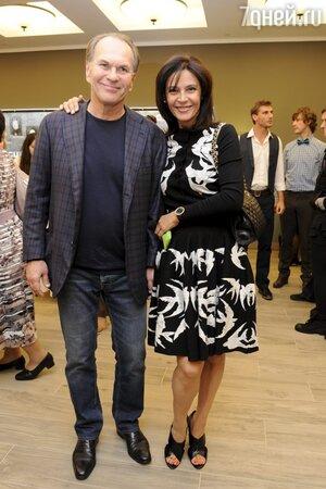 Лидия Вележева и Алексей Гуськов