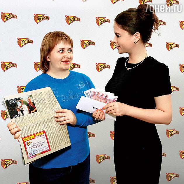 Елена Акимова и шеф-редактор журнала «7 Дней» Алёна Мажарова