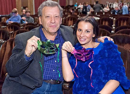 Анна и Борис Грачевские на премьере в московском теате «Шалом», 2012 год