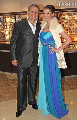 Анна и Борис Грачевские на вручении премии «Ника», 2012 год