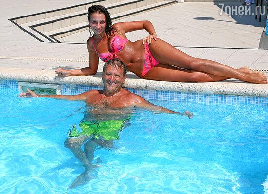 Анна и Борис Грачевские на отдыхе, 2011 год