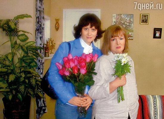С Еленой Соловей в сериале «На Брайтоне»