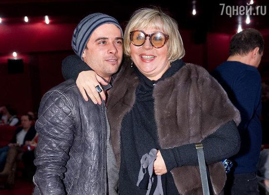 Илья Глинников и Марина Голуб