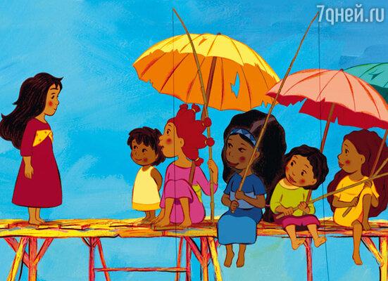 Кадр мультфильма «Миа и Мигу»