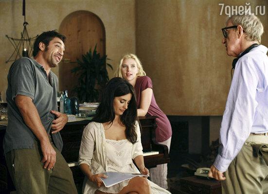 Вуди Аллена можно смело назвать «купидоном» — именно на съемках его картины «Вики Кристина Барселона» у Хавьера и Пенелопы начался роман. 2008 г.