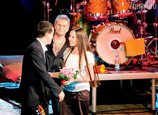 Кульминация концерта Агутина в Тюмени