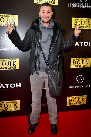 Вячеслав Манучаров на премьере фильма «Волк с Уолл-стрит»