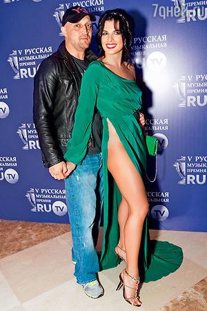 Гоша Куценко с Ольгой Романовской (Корягиной)