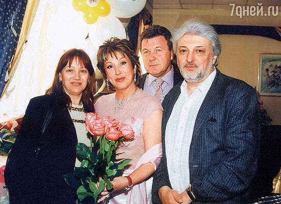 С Ириной и Славой Добрыниными