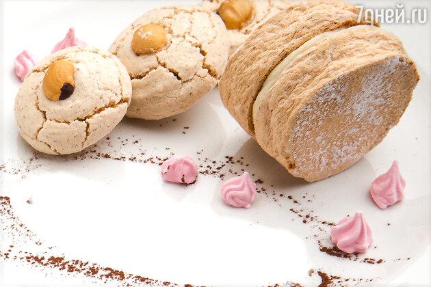 Ореховое печенье с кремом «Мокко»: рецепт от шеф-кондитера Анны Изотовой
