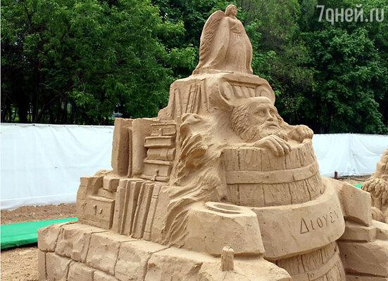 Детский чемпионат песчаных скульптур в музее-заповеднике «Коломенское»