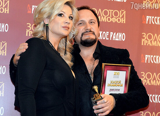 С супругой Инной
