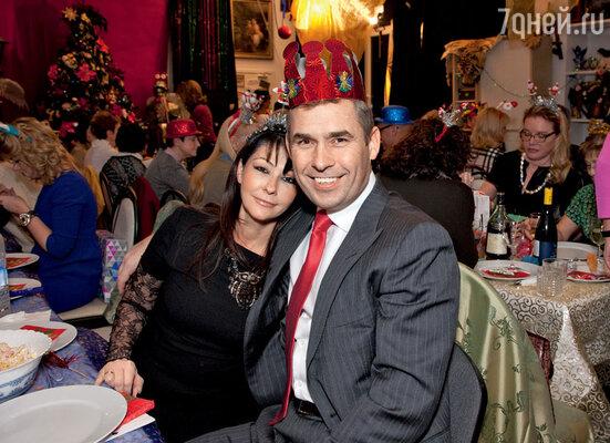 Павел Астахов с женой Светланой