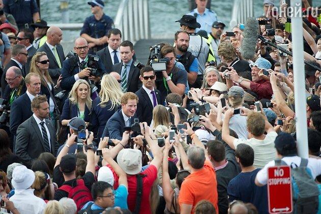Принц Гарри в Сиднее