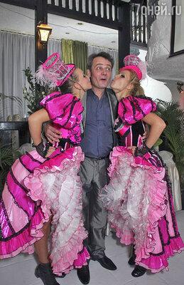 Звезда сериала «Тайны следствия» и участник шоу «Танцы со звездами» Сергей Барышев отметил свое 50-летие