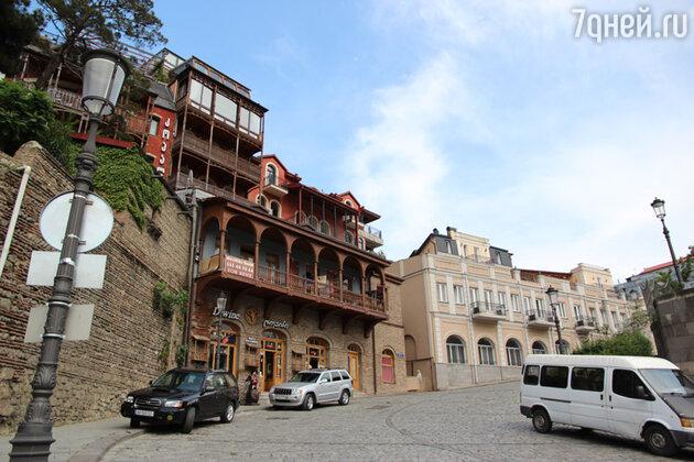 Дворики старого Тбилиси по колоритности не уступают неаполитанским