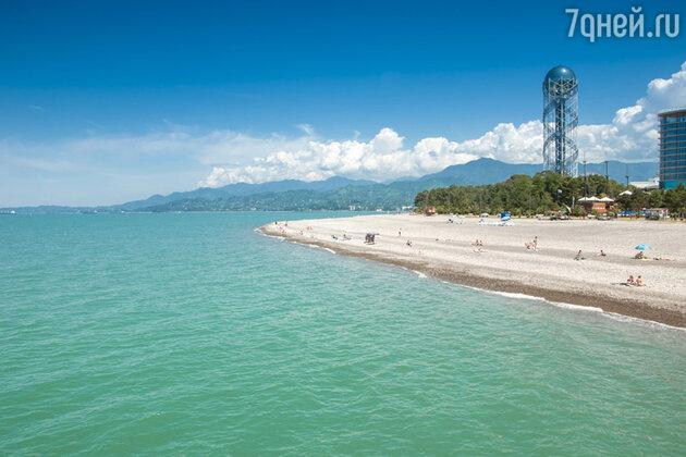 В окрестностях Батуми много уютных и чистых пляжей