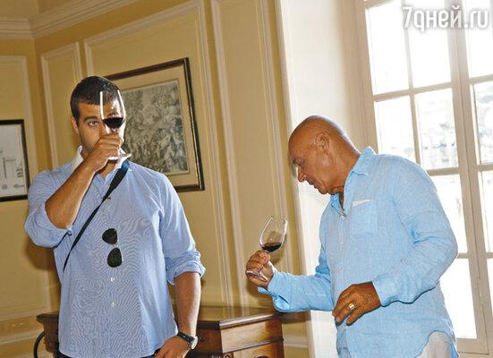 Владимиру Владимировичу и Ивану Андреевичу особенно понравилось вино в Шато-Марго