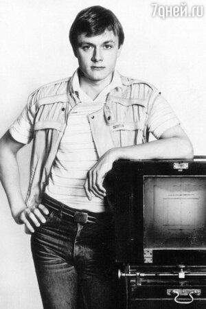 Владимир Шевельков  1980 год
