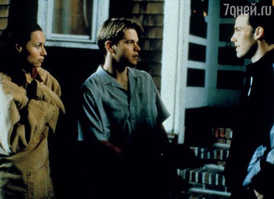 На фильм «Умница Уилл Хантинг» неожиданно обрушился невероятный успех. И режиссер, и авторы сценария, и Минни были номинированы на «Оскар». Кадр из фильма