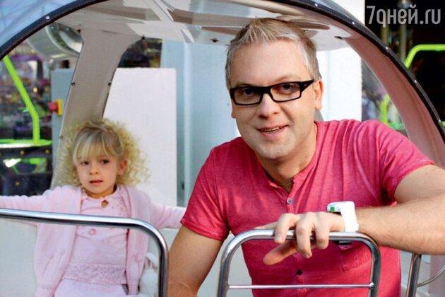 Сергей Светлаков с дочкой Настей