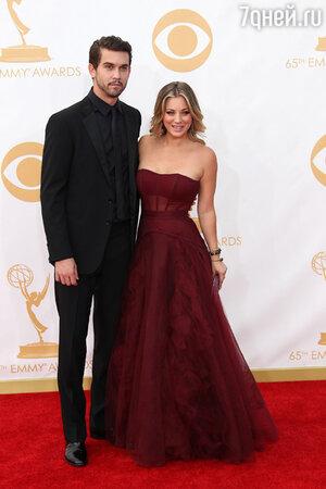 Кейли Куоко и Райан Свитинг на церемонии Emmy, 2013 год