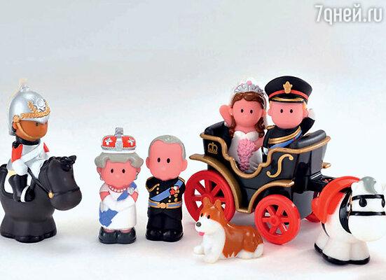 В детских игрушках нашлось место всей королевской рати