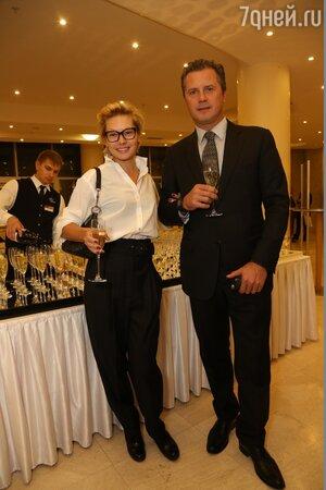 Алена Бабенко и ее муж Эдуард Субоч