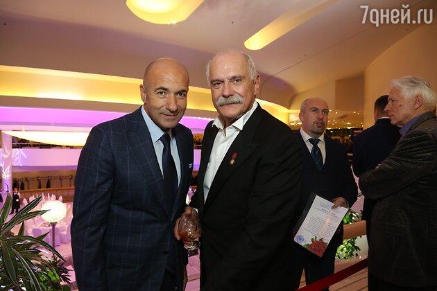 Игорь Крутой и Никита Михалков