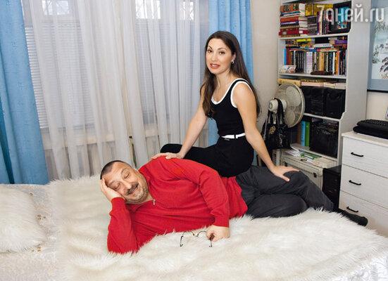 С супругой Ириной