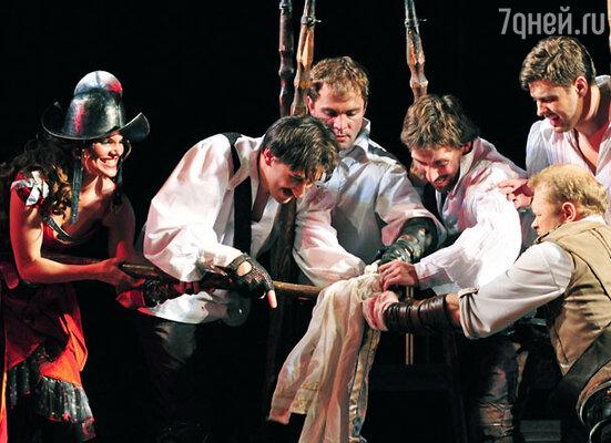«Сирано де Бержерак» в Театр им. Моссовета