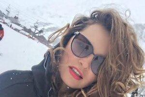 Звезда шоу «Без страховки» учится кататься на лыжах во Франции