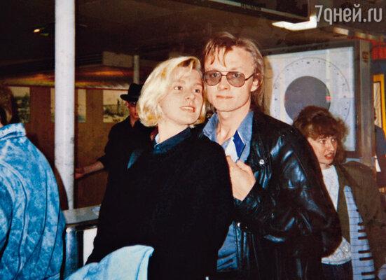 Ирина с Владимиром. 1988 г.