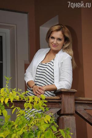 Мария Порошина на съемках сериала «Всегда говори всегда 9»
