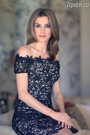 Летиция Ортис в платье от Felipe Varela
