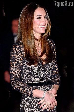 Кейт Миддлтон в платье от Temperley