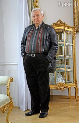 Главный режиссер МХТ им. Чехова Олег Табаков