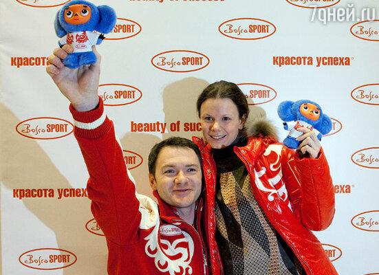 Фигуристы Мария Петрова и Алексей Тихонов