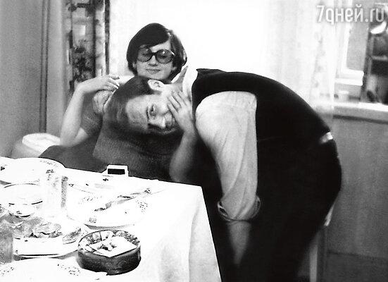 С третьей женой Светланой Гостюхин прожил дольше всех— 20 лет. Минск, 1980 г.