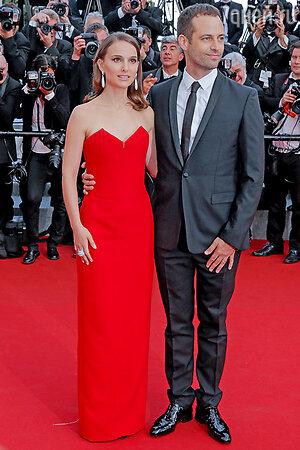 Натали Портман с  мужем Бенжаменом Мильпье