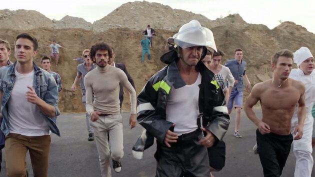Кадр из клипа «Хочу к Меладзе»